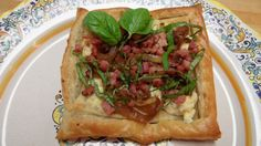 Breakfast Pastry with Prosciutto, Caramelized Onions and Boursin Cheese - great breakfast or brunch idea