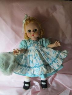 BKW-Alexander-Kins-in-blue-w-floral-pinafore-bright-blonde-hair-DARLING-doll