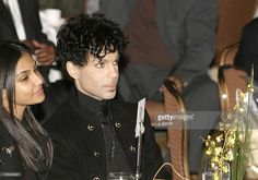 Prince and his wife Manuela Testolini during 2nd Annual AEC Grammy Sunday Brunch at The Regent Beverly Wilshire Hotel in Beverly Hills, California, United States.