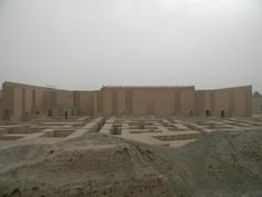 Great picture of Babylonian King Nebuchadnezzar's palace in Babylon, Iraq.  mydaystheirnights:      This is also in Babylon (Iraqi Logic:I was born in a midwife's house in Babylon because my mom did not trust the hospitals) and I know its a castle and that surrounding the castle is a maze so that intruders get lost trying to find the entrance while on the satah (rooftop) the King's army could shoot arrows. I think its cooler than a drawbridge but that might be because I am slightly biased.