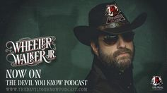 """The Devil You Know Podcast - Episode 93 is up and running! John H Shaw and Dorian Grey talk withAdam about all sorts of wacky things! —Real American Pseudos: """"Mr. Way Too MuchMoney to Join the Church of Satan Guy!Special Guest — The Pu$$y King WheelerWalker, Jr.! Listen now if you hate or love Country Music, but hate or love Wheeler Walker, Jr.! Website/YouTube /SoundCloud/RSS Feed/iTunes/Stitcher"""