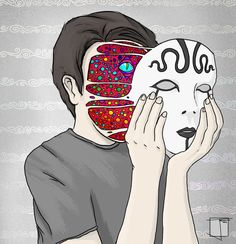 Behind your mask