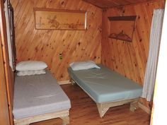 Anita's chalet rooms - Chalet on Paskagama's river - for unique a fly-in fishing experience in Northern Quebec - You'll enjoy our outfitter! | #flyin #fishing #walleye #northernpike