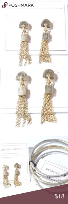 904cebb6a Nordstrom Melrose and Market Earrings bangle Set Welcome to NYC Elite  Boutique Nordstrom Melrose and Market
