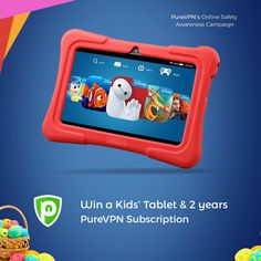 WIN A KIDS' TABLET AND 2 YEAR PUREVPN SUBSCRIPTION http://slummysinglemummy.com/2017/03/31/competition-win-kids-tablet-2-year-purevpn-subscription/