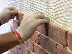 Thin Brick Interior Walls | How to Install Brick Veneer on a Wall : How-To : DIY Network