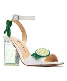 2ebf3a73609 Katy Perry Footwear White   Lime Rita Pump - Women