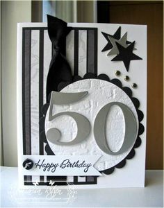 Guy 50th Birthday Card!