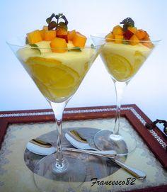 La cucina degli Angeli: Mousse al limone con dadolata di pesche