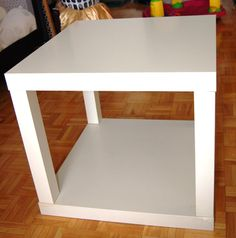 IKEA Hackers: Lack Table Face Lift