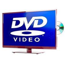 ORION LED-Smart-TV CLB32R890DS DVB-T2/-T/-C/-S/S2, integrierter DVD-Player, rot; EEK A+sparen25.com , sparen25.de , sparen25.info