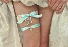 Blue Garter, Something Blue Bridal Garter Wedding Garter Custom Garter Sparkly Wedding Accessories Blue Wedding Garder Plus Size Bridal