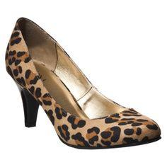 Target Cheetah pumps. $24.99