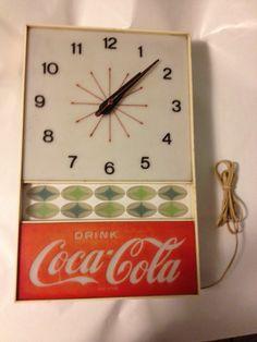 Vintage Coca Cola Clock