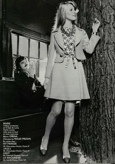 '70s fashion - cute suit, they should make em' like these again