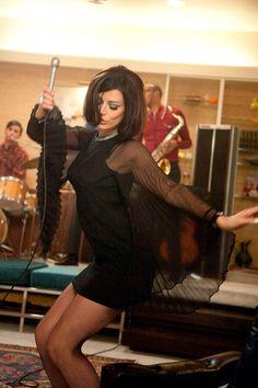 Megan Draper singing Zou Bisou Bisou MAD MEN
