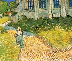 Van Gogh - The Church at Auvers (1890)