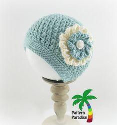 X Stitch Challenge Crochet Pattern for Julia Hat by Pattern Paradise ~ free pattern ᛡ Crochet Kids Hats, Crochet Beanie Hat, Knit Or Crochet, Crochet Scarves, Crochet Crafts, Crochet Projects, Knitted Hats, Slouchy Hat, Kids Crochet Hats Free Pattern