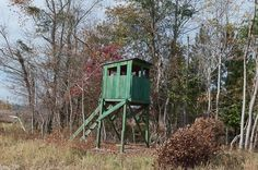 Old deer stand in Bamberg, SC