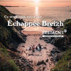 Découvrez toutes les appropriations des acteurs du tourisme bretons dans le cadre de la campagne #DépaysezVousenBretagne Création : Comité Régionale du Tourisme Bretagne Communication, Promotion, Week End, Water, Movie Posters, Movies, Outdoor, Rural Area, Actor