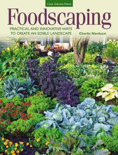 Lawn and Garden Tools Basics In Foodscaping: Practical And Innovative Ways To Create An Edible Landscape Cool Springs Press, Charlie Nardozzi Makes Great Case For Letting Edible Plants Move In With Your Flowers, Ornamental Ground Cover, Shrubs And T Edible Plants, Edible Garden, Permaculture, Outdoor Plants, Outdoor Gardens, Indoor Garden, Backyard Plants, Garden Plants, Indoor Outdoor