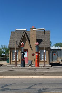 old gas stations | Old time Phillips 66 Gas Station | Flickr - Photo Sharing!
