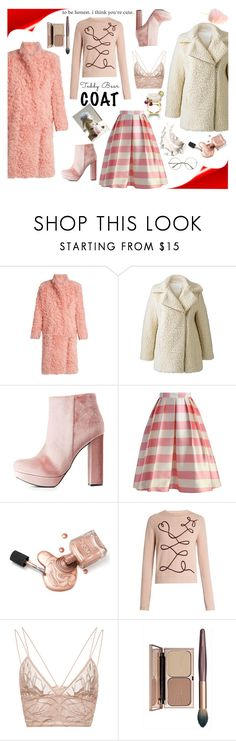 """Teddy Bear Coat"" by denisse-ponce ❤ liked on Polyvore featuring Preen, Alice & You, Charlotte Russe, Chicwish, Piaget, Roksanda and Jonathan Simkhai"
