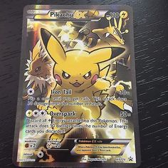 Image result for pokemon tcg blue red pikachu ex