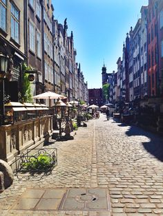 The Streets of Gdansk, Poland