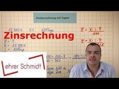 Zinsen berechnen (mit Formel)| Zinsrechnung | Mathematik - YouTube