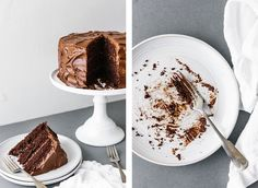 (gluten-free, grain-free, dairy-free) This paleo chocolate cake recipe is unbelievably rich, decadent and moist. It's the perfect chocolate birthday cake. Gluten Free Cakes, Gluten Free Desserts, Dessert Recipes, Paleo Chocolate Cake, Chocolate Desserts, Paleo Mug Cake, Savoury Cake, Dairy Free, Grain Free
