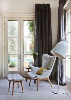 Featherstone sillón y taburete |  estudio de diseño Doherty