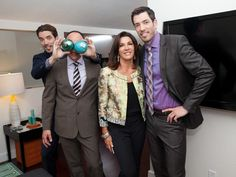 Love It or Photobomb It - Go Behind the Scenes With Property Brothers Drew and Jonathan Scott on HGTV