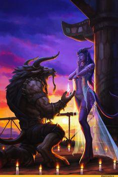 World of Warcraft Art World Of Warcraft, Warcraft Art, Fantasy Girl, Sci Fi Fantasy, Dark Fantasy, Fantasy Couples, Fantasy Creatures, Mythical Creatures, Character Inspiration