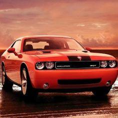 Cool Dodge Challenger SRT