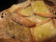 Valkosipulileipää simppelisti