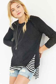 Olive & Oak Zippered Sweater - Urban Outfitters