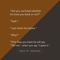 Story Book Of Teenagers 💕 ( Best Friend Love Quotes, First Love Quotes, Crazy Girl Quotes, Love Quotes For Her, Book Quotes, Words Quotes, Me Quotes, Qoutes, Besties Quotes