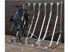 Cyclerax: Our products include Vertical Bike Racks, Bike Storage Sheds and other forms of Outdoor Bicycle Storage