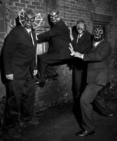 Los Straitjackets are coming to Ohana: Luau at the Lake in June.