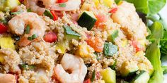 Easy Shrimp Quinoa BowlPrep time: 20 minutesCook time: 10-12 minutesYield: 4 servingsServing size: [...]