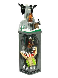 """Lego vignette """"Double Trouble"""" by Marcin Danielak"""