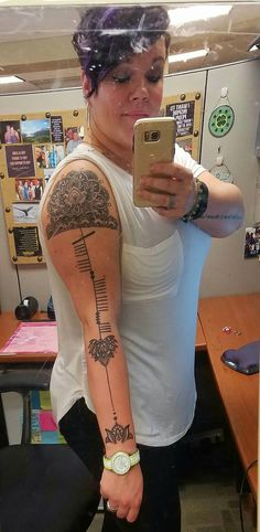 Linear mandala tattoo with Ogham Ogham Tattoo, Nordic Tattoo, Mandala Tattoo, Piercings, Ink, Yahoo Search, Tattoos, Image Search, Tattoo Ideas
