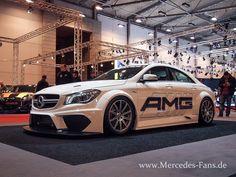 Mercedes-FanWorld auf der Essen Motorshow 2014 Mercedes CLA 45 AMG Racing Series, GLA, 190 Evo - Essen Motor Show  -Merce...
