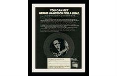 "1974 Rhodes Music Electric Piano Ad ""Herbie Hancock"" Vintage Advertisement Print"