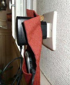 Tutos : Porte-chargeur de portable