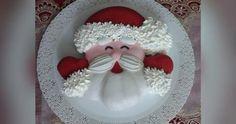 Torta Babbo Natale,Ricetta facile e veloce anche bimby