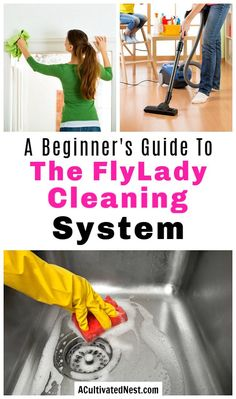 If you want an easy way to keep your home clean, you need to try the FlyLady cleaning system! Its the best way to schedule your cleaning tasks! Fly Lady Cleaning, Deep Cleaning, Spring Cleaning, Cleaning Hacks, The Flylady, Fly Quotes, Diy Cleaners, Homemaking, Housekeeping