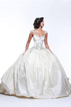 Editor's Pick: Glamorous Katerina Bocci Wedding Dresses: http://www.modwedding.com/2014/10/07/editors-pick-sexy-glamorous-katerina-bocci-wedding-dresses/ #wedding #weddings #wedding_dress