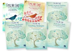 FIRST WE SING COMPLETE SET This practical series by Susan Brumfield opens the door to singing and playing using traditional songs with simple plans and suggestions. Songbooks with CDs, A Teaching Guide with plans,lessons and overviews, Resource Packs for Primary and Intermediate Levels of the sequential rhythmic and melodic elements, and 144 Activity Cards for prep and practice complete the set.